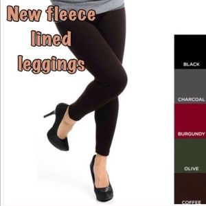 Pants - Nwt fleece lined leggings